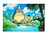 CoolChange Puzzle de Totoro, 1000 Piezas, Tema: Totoro al río