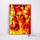 ganlanshu Pinturas de Arte Callejero Carteles y murales de Arte Pop Figuras abstractas decoración del hogar,Pintura sin marco-30X45cm