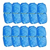 WSERE 300 Pcs Boot Shoe Covers Disposable Non Slip Waterproof Shoe Protectors Covers