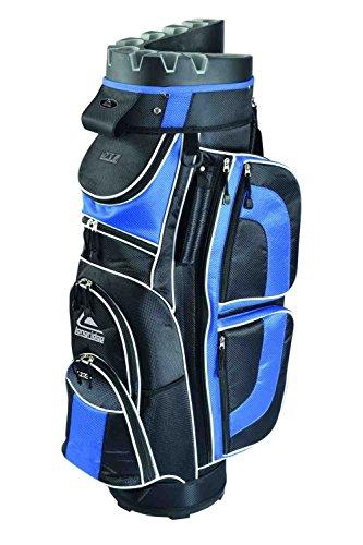 LONGRIDGE EZE Golftasche Cartbag EZE Kaddy Pro schwarz Black/Navy Einheitsgröße