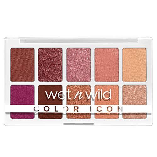 wet n wild, Color Icon 10-Pan Palette, Palette di Ombretti, 10 Colori Riccamente Pigmentati per il Trucco di Tutti i Giorni, Formula a Lunga Durata e Facile da Sfumare, Heart & Sol