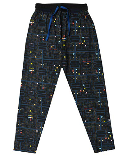 Officially Licensed Pac-Man Lounge Pants for Adults, S to XXL