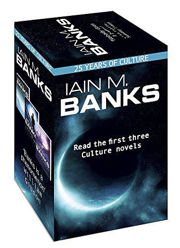 Iain M. Banks Culture - 25th anniversary box set: Consider Phlebas, The Player of Games and Use of Weapons