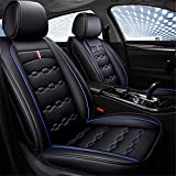Fundas de asiento de cuero para coche Fit Toyota CHR Auto Full Set Protector de cojín de asiento,Azul