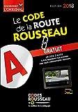 Code Rousseau de la route B 2018