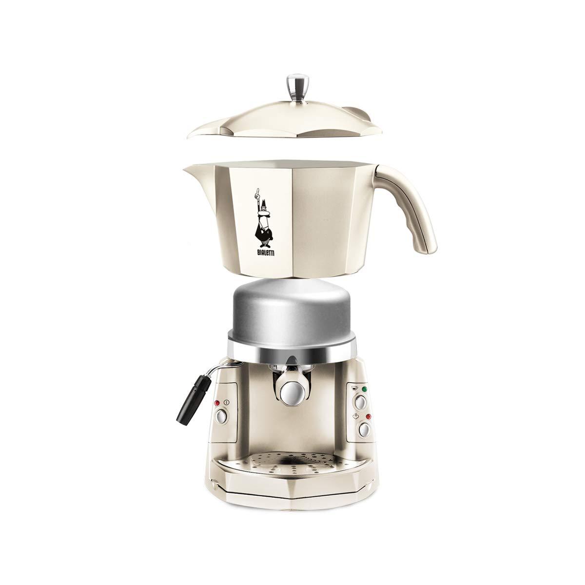 Girmi Mokona - Máquina de café, blanca crema: Amazon.es: Hogar