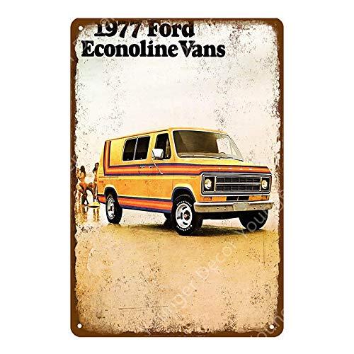 dise/ño retro de Arizona BNIST BVCE Placa decorativa para placa de matr/ícula de coche 20 x 30 cm