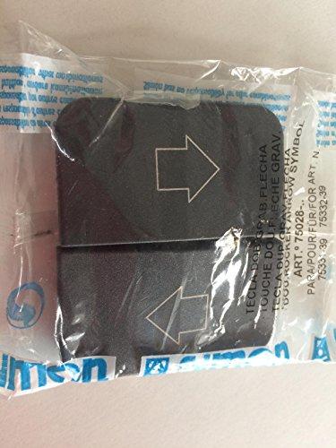 Simon - 75028-38 tecla persianas s-75 grafito Ref. 6557538220