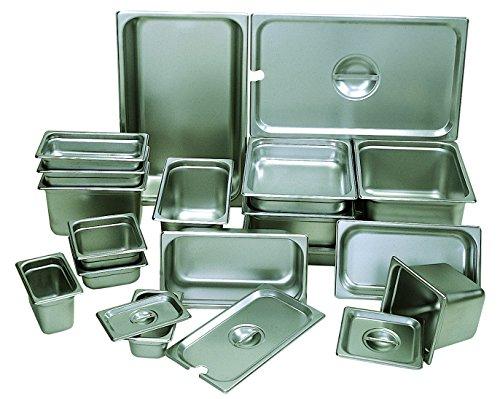 Buy Bargain Update International NJP-252 1/4 Anti-Jam Pan 2.5 Deep, 18-8 Stainless Steel AISI-304