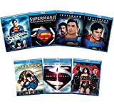 Superman 7-Movie Anthology Blu-ray Collection: Superman: The Movie/Superman II/Superman III/Superman IV/Superman Returns/Man of Steel/Batman V Superman [Christopher Reeve/Brandon Routh/Henry Cavill]