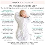 Amazing-Baby-Transitional-Swaddle-Sack-with-Arms-Up-Half-Length-Sleeves-and-Mitten-Cuffs-Tiny-Elephants-Sterling-Medium-3-6-Months-Parents-Picks-Award-Winner-Easy-Transition-with-Better-Sleep