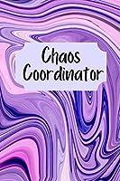 Chaos Coordinator: To do list Notebook, Dot grid matrix, Daily Organizer