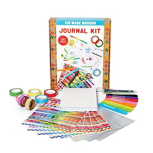 Kid Made Modern Journal Craft Kit - Draw and Write Kid Journal, Creative Art Supplies