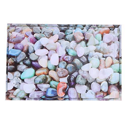 Atyhao Floor Wall 3D Sticker Stone Pattern Good Sealing 40 x 60cm/15.7 x 23.6in