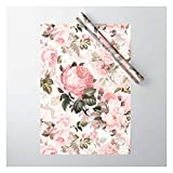 Vintage & Shabby Chic - Sepia Pink Roses by Art & Vintage & Love on Gift Wrapping Paper - Pack of 5