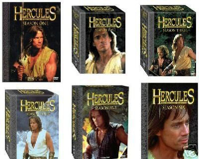 Hercules The Legendary Journeys - Seasons 1-6 Bundle: Kevin Sorbo, Anthony Quinn, Roma Downey
