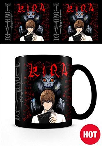 Death Note - Taza Termosensible Kira, 320ml