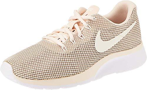 Nike Wmns Tanjun Racer, Zapatillas para Mujer, Multicolor (Guava Ice/Sail/Vast Grey/Atmosphere Grey 001), 43 EU