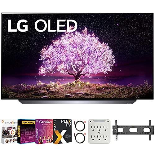 LG OLED65C1PUB 65 Inch 4K Smart OLED TV with AI ThinQ 2021...