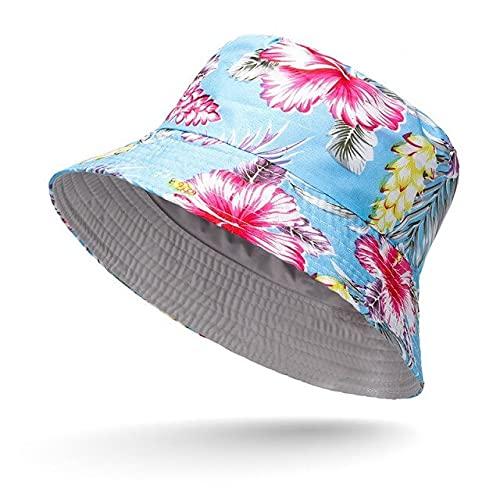 Sombrero de Cubo Unisex Graffiti Letter Mujeres Hombres Sombrero de Pescador de Pesca Gorra de Hip Hop de Verano al Aire Libre-13-One Size