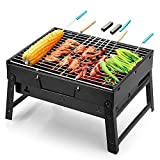 Uten Barbecue Grill Portable Lightweight Simple Charcoal Grill Perfect...