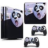 VINILOL Vinilo para playstation 4 PS4 PRO pegatina cubierta Kung Fu Panda skin para consola y 2 mandos.