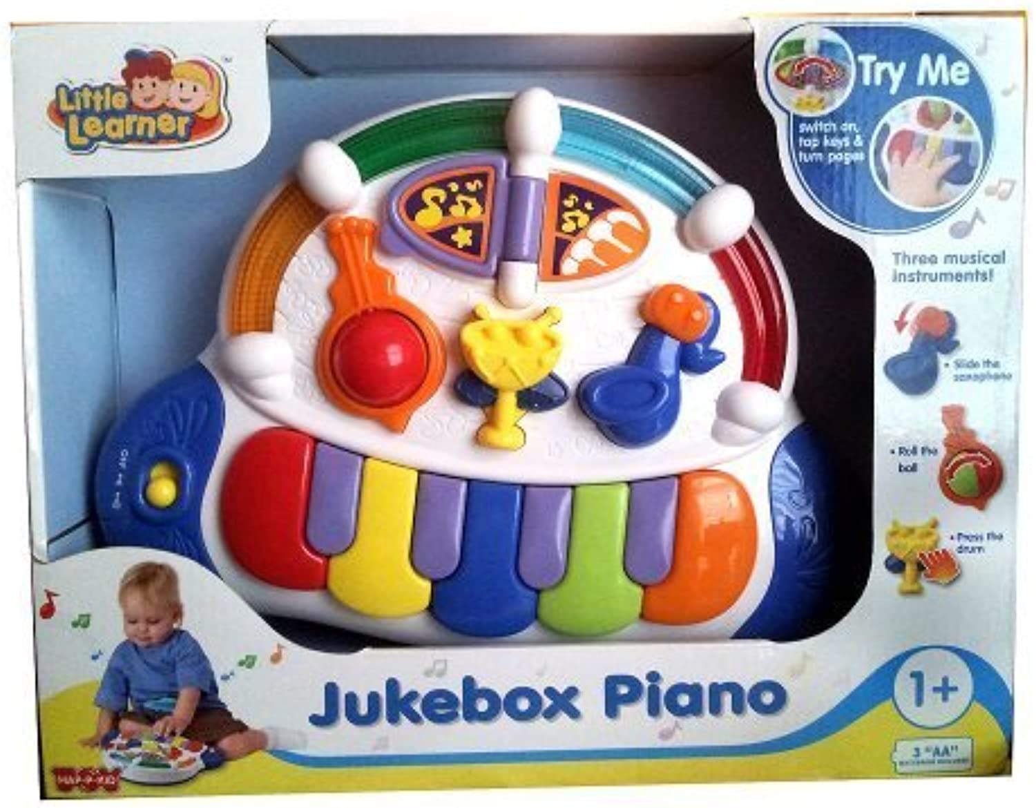 Little Learner Jukebox Piano by Little Learner