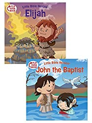 Elijah/John the Baptist Flip-Over Book (Little Bible Heroes (TM)