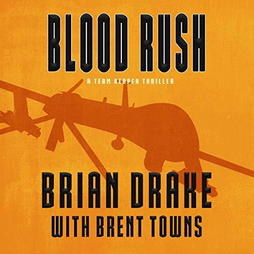 Blood Rush audiobook cover art