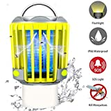 RUNACC Bug Zapper Camping Lantern LED Flashlight Bug Zapper