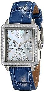 GV2 by Gevril Women's 9211 Bari Multi Analog Display Swiss Quartz Blue Watch Set image