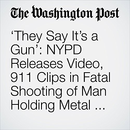 'They Say It's a Gun': NYPD Releases Video, 911 Clips in Fatal Shooting of Man Holding Metal Pipe copertina