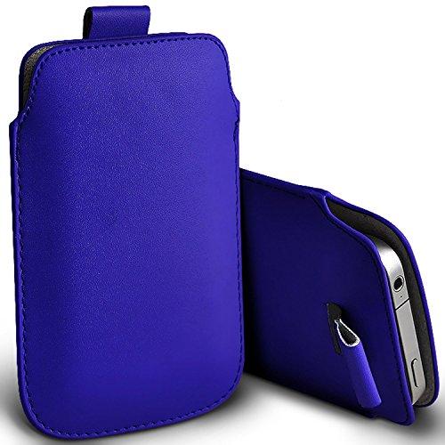 ( blau ) Tasche Case für Doogee F3 Pro hülle, tasche Premium stilvolle Kunstleder Lasche Tasche Hülle Cover in verschiedenen Farben zu wählen, FromDoogee F3 pro hülle, tasche von i-Tronixs