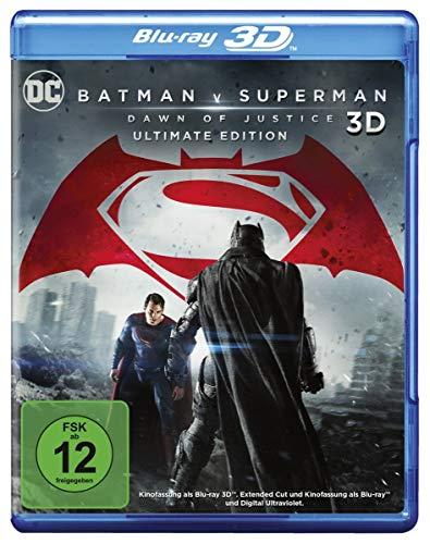Batman v Superman: Dawn of Justice – Ultimate Edition [3D Blu-ray]