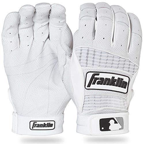 Franklin Sports MLB Adult Neo Classic II Series Batting Glove (White, X-Large)