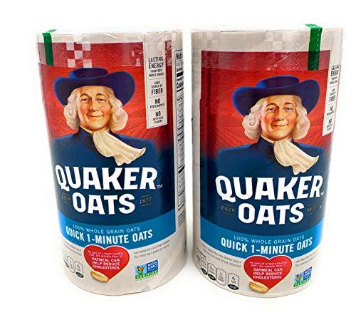 Quaker Oats Quick 1-Minute Oatmeal, Breakfast Cereal