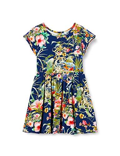 Mexx Mädchen Kleid, Mehrfarbig (Floral Printed 318186), (Herstellergröße: 98)