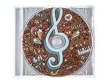 FIGURA DE CHOCOLATE FORMA DE CD / DVD 45G CON CAJA (AZUL)
