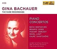 Gina Bachauer - The Rare Recordings - Piano Concertos