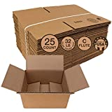 Cardboard Shipping Boxes, 9x6x4 Inch, Pack of 25