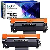 2 LxTek TN2420 TN-2420 Compatibile per Brother TN2410 TN-2410 Cartucce di Toner per Brother MFC-L2710DW L2710DN L2730DW L2750DW, DCP-L2510D L2530DW L2550DN, HL-L2310D L2350DW L2370DN L2375DW