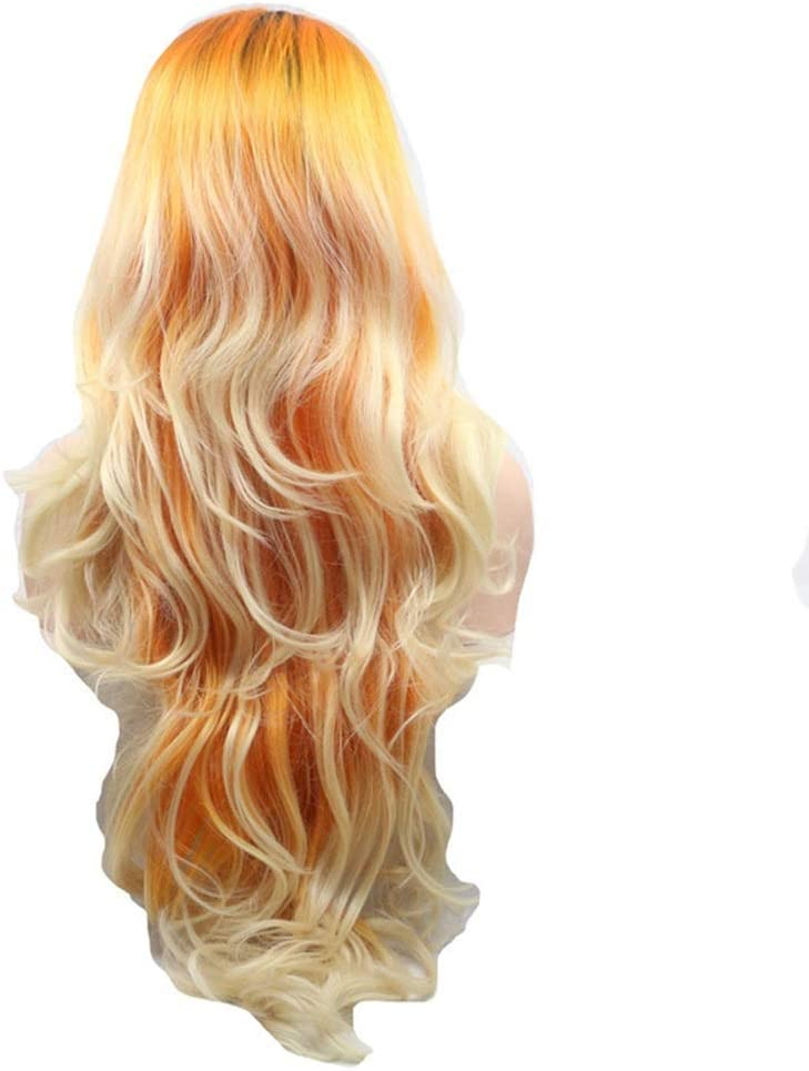 AXJTNL Wigs Wig Front Lace Big security European New Shipping Free Shipping Hair Hand-Woven Set Wave