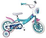 EDEN-BIKES Frozen - Bicicleta Infantil de Frozen de Frozen, Multicolor, 12 Pulgadas