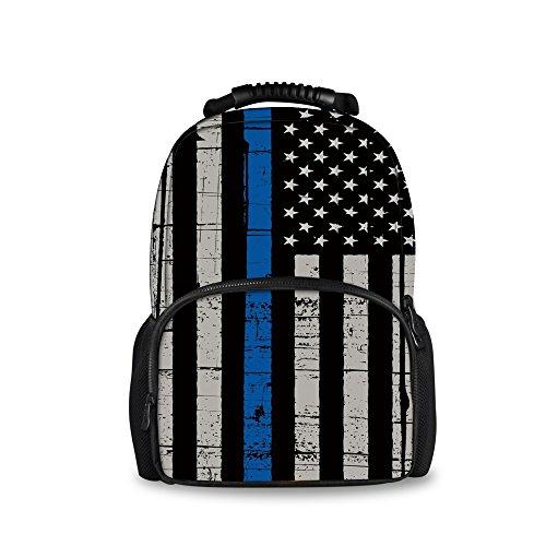 Nakgn Police Blue Line Flag Pattern…