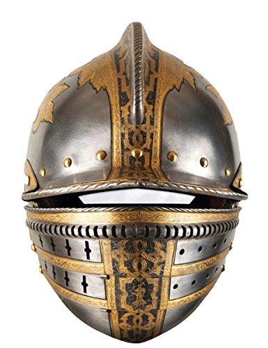 Máscara de cartón casco medieval
