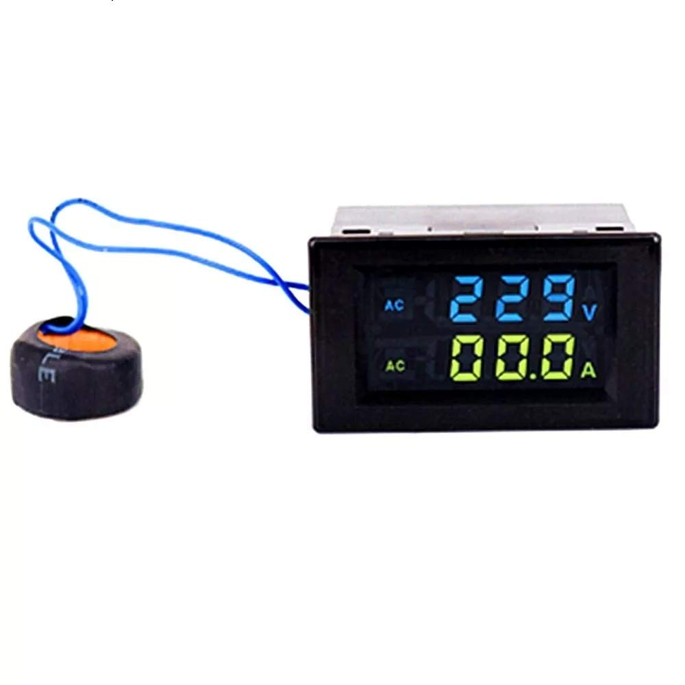 Los Angeles Mall 35% OFF LCD Voltmeter D85-2042A Double Display Am Digital