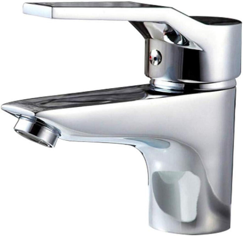Kitchen Bath Basin Sink Bathroom Taps Kitchen Sink Taps Bathroom Taps Single Hole Washbasin Cold and Hot Water Faucet Ctzl0456