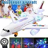 Fanville Avion électrique télécommandé avec Cadeau de Plein air pour Avion RC Musique légère LED pour Enfants