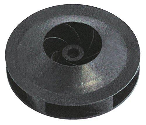 Meiko Laufrad für Spülmaschine DV160, DV80T Höhe 28mm Achsaufnahme 9/8mm ø 103mm für Achse ø 9/8mm
