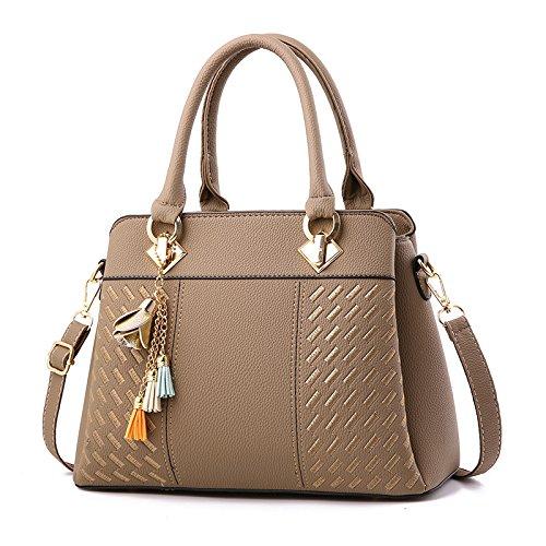 Beclina Women's Handbag (Khaki)